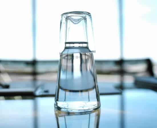Clear Glass Water Carafe